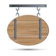 Retro style wooden board