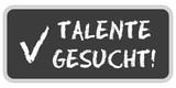 CB-Sticker TF eckig oc TALENTE GESUCHT! poster