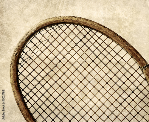 retro tennis strings