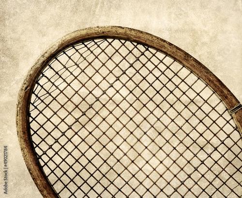 retro tennis strings