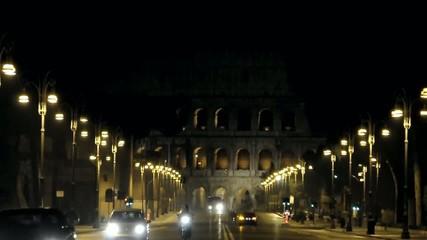 Roma via dei Fori Imperiali