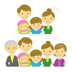 家族 喜び