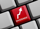 Sicheres Investieren - Aktien mit hoher Dividende poster