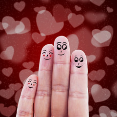 Finger family valentine design