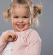 Little funny girl