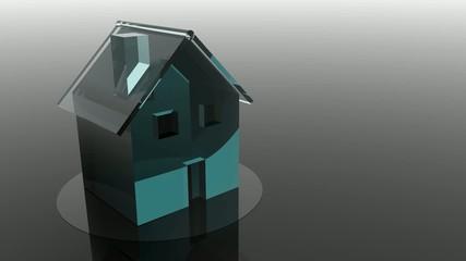 Glashaus bewegt, Immobilie