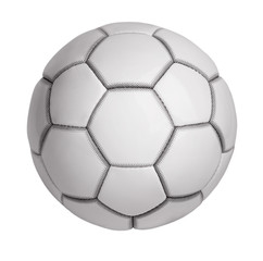 Soccer ball made ​​of artificial leather