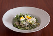 Beef Salad with Eggs and Horseradish