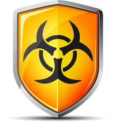 Biohazard shield