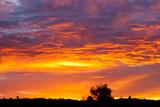 Fototapete Sunrise - Wolken - Sonnenauf- / untergang