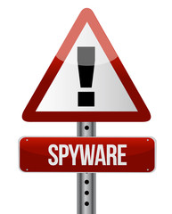 'spyware' sign