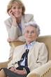 Portrait : Grand mère et fille