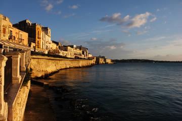 Postcard from Ortigia island, Siracusa, Sicily, Italy