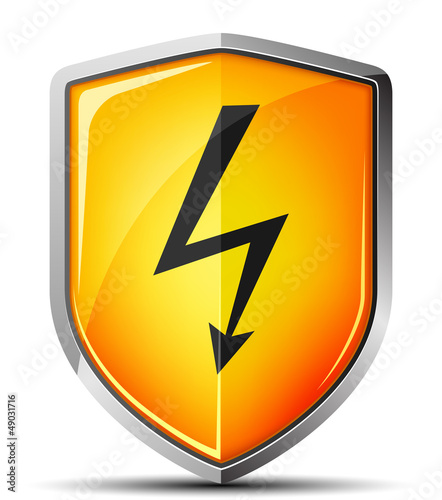 High voltage shield