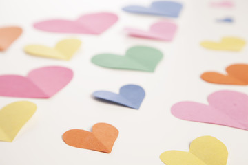 Paper Heart Background