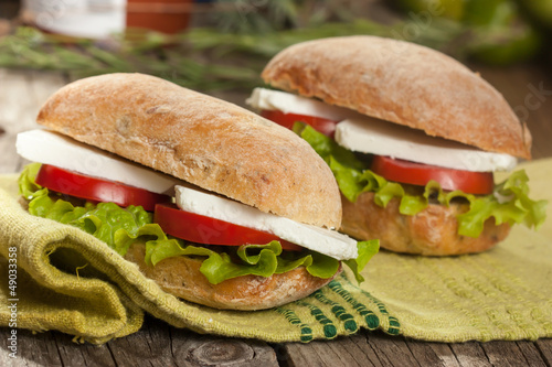 Ciabata Sandwich