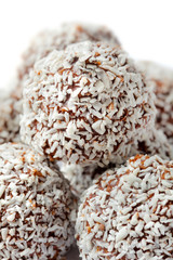Chocolate And Coconut Ball
