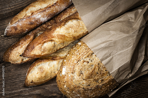 Staande foto Brood Artisan bread