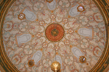 Dome Of Topkapi Palace,Oriental Ornaments,Istanbul