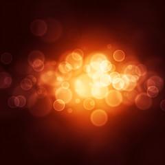 Fuzzy light-emitting bubbles in the dark