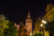 Cathedral La Giralda at Sevilla Spain