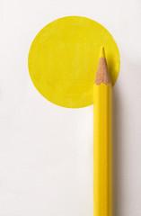 cerchio di giallo