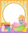 Baby theme frame 3