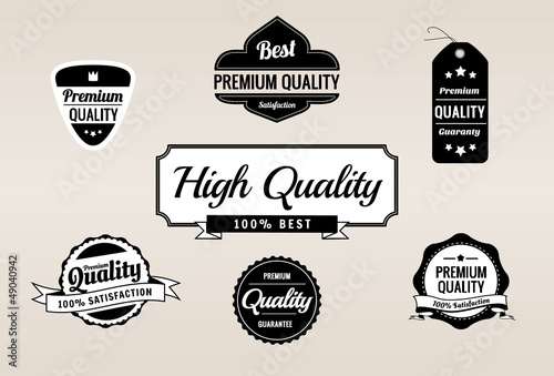 Premium Quality & Guarantee Retro Labels Collection