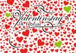 Valentinstag, 14. Februar, Erinnerung, Datum, Herz, Rot, Design