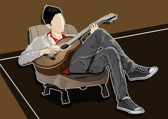 I am a guitarist