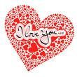 Herz, I Love You, Ich Liebe Dich, Liebe, Love, Vorlage, Design