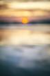 blur sunset background