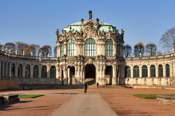 Zwinger palace in Dresden, Germany.