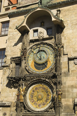 The old astronomical clock in Prague