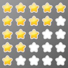 Stars buttons
