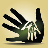 Pay it forward caring hands
