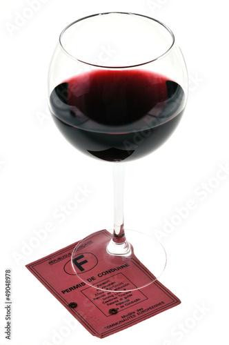 Alcool et permis de conduire