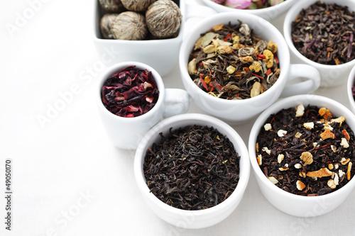various tea