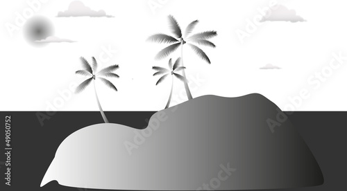la piccola isola