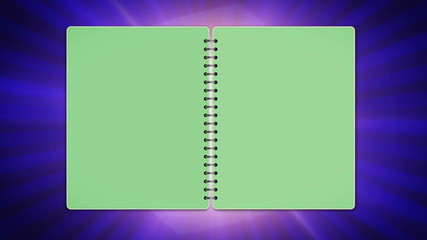 Book, Open / Close Loop, Green Screen- HD1080
