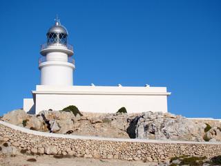 Lighthouse at Cap de Cavalleria, Menorca