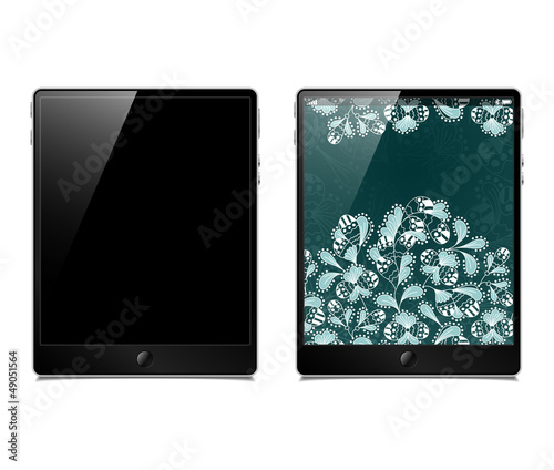 tablet pc, vector model