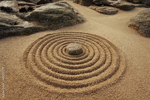 Fototapeten,zen,kreis logo,felsen,urlaub
