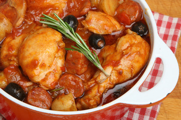 Spanish Chicken Stew