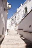 Frigiliana a pretty 'white' village in Andalucia Spain