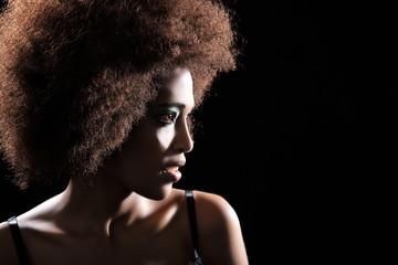 Hübsche afrikanische Frau aus Äthiopien