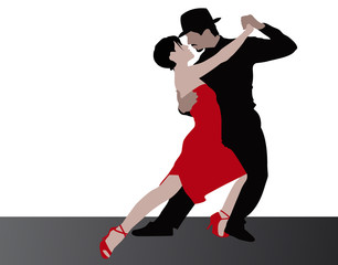 Tanz-Paar