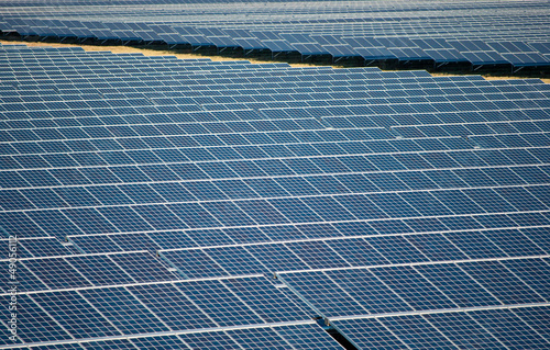 Solarzellen-Außenanlage