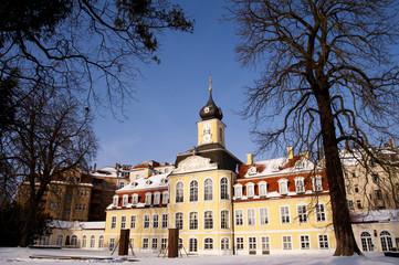 Leipzig Gohliser Schlösschen im Winter