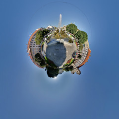 Mini planet wish fountain kosice